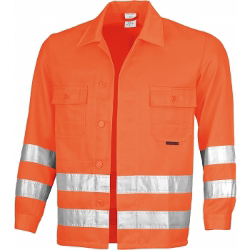 Qualitex Warnjacke, orange