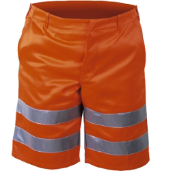 Warnschutz-Shorts orange