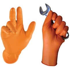 Einweghandschuh Orange Grip / Falcon Grip