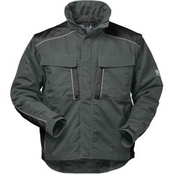 GENF 2 in 1 Canvas Outdoorjacke, grau